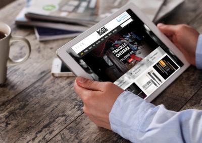 Sito con catalogo online Bode Music Gear