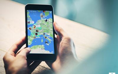 Snap Map. La nuova funzionalità di Snapchat.