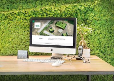 Sito Web Verde Profilo