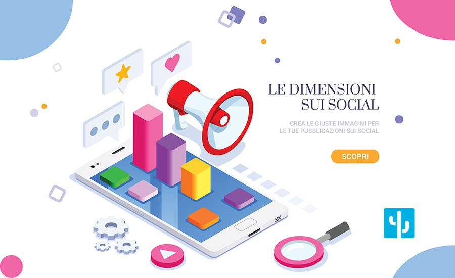 Le dimensioni contano: la guida alle dimensioni delle immagini sui social del 2019