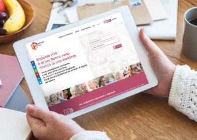 Realizzazione di e-commerce su misura perBadanteH24
