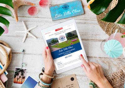 Realizzazione sito web e piattaforma di prenotazione online per Lido Villa Olmo