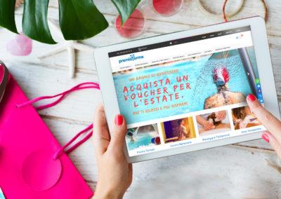 Nuova soluzione di e-commerce e realizzazione blog per una struttura termale