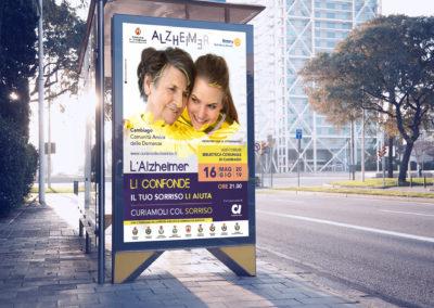 Campagna pubblicitaria per la promozione di un evento a Milano