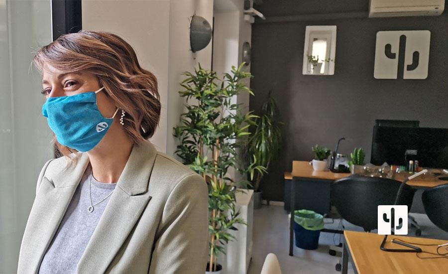 Perché promuovere la Corporate Image Aziendale con le Mascherine ?