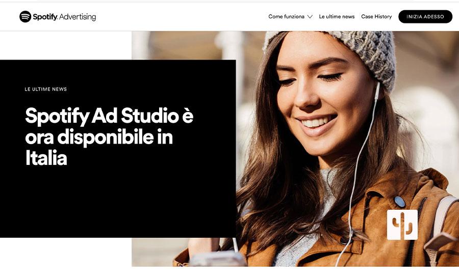 Spotify Ad Studio: la piattaforma pubblicitaria ora disponibile in Italia!